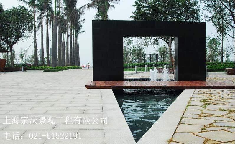上海水池水景绿化设计,上海水景景观施工