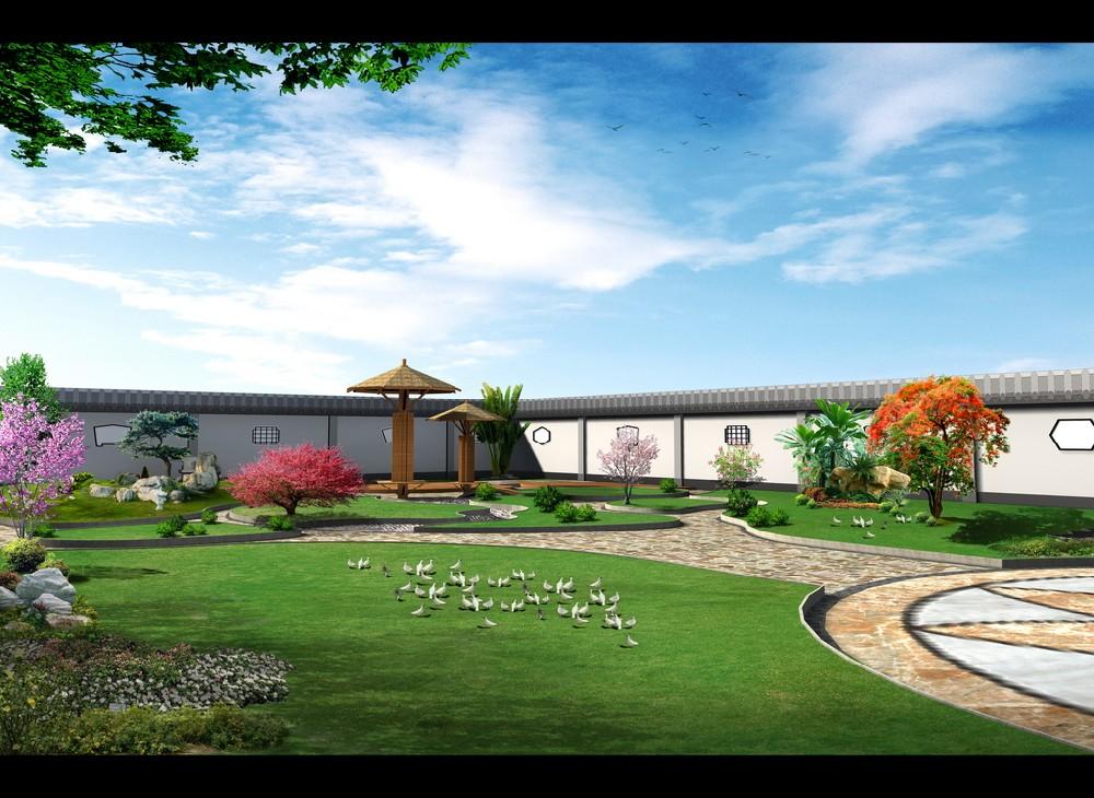 江苏公园园林绿化设计图-上海宗沃景观工程有限公司