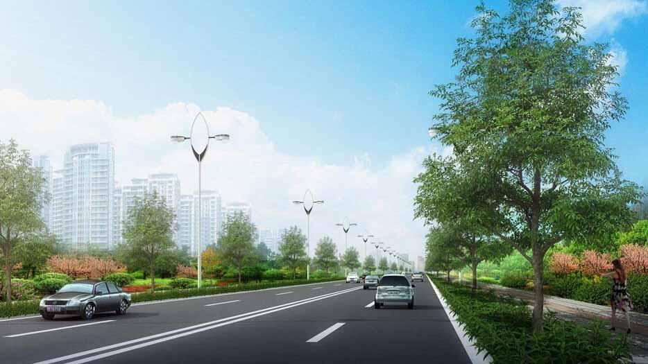上海街道綠化設計施工